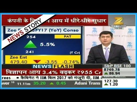 Analysis of Q3 results of Zee Entertainment for the financial year 2017 Analysis of Q3 results of Zee Entertainment for the financial year 2017. Watch this special segment and get to know more here. Zee Business is one of the leading and fastest growing Hindi business news channels in India. The channel has revolutionized business news by its innovative programming and path-breaking strategy of making business news a 24/7 activity as it is not just limited to the stock market. This has made…