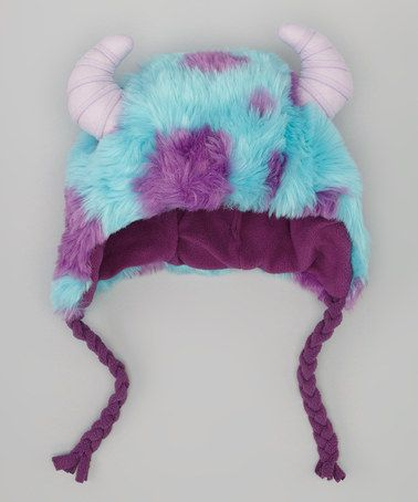 Monsters University Deluxe Sulley Earflap Beanie by Monsters University on #zulily