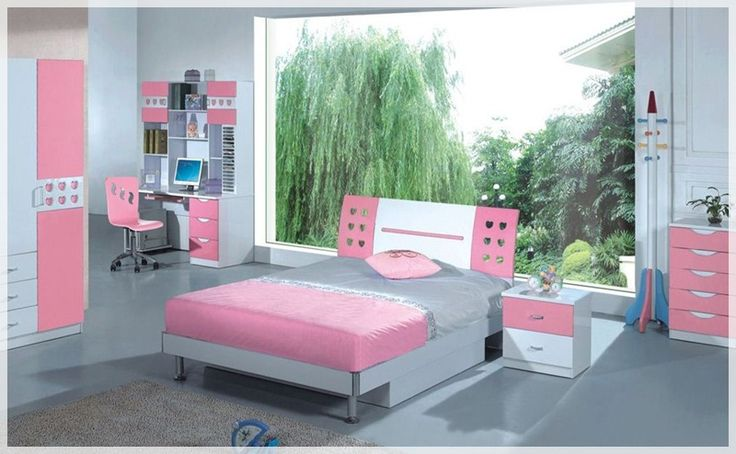 10 Cute Decoration Ideas Pink Bedrooms for Girls - comfortable and cool room ideas home concept