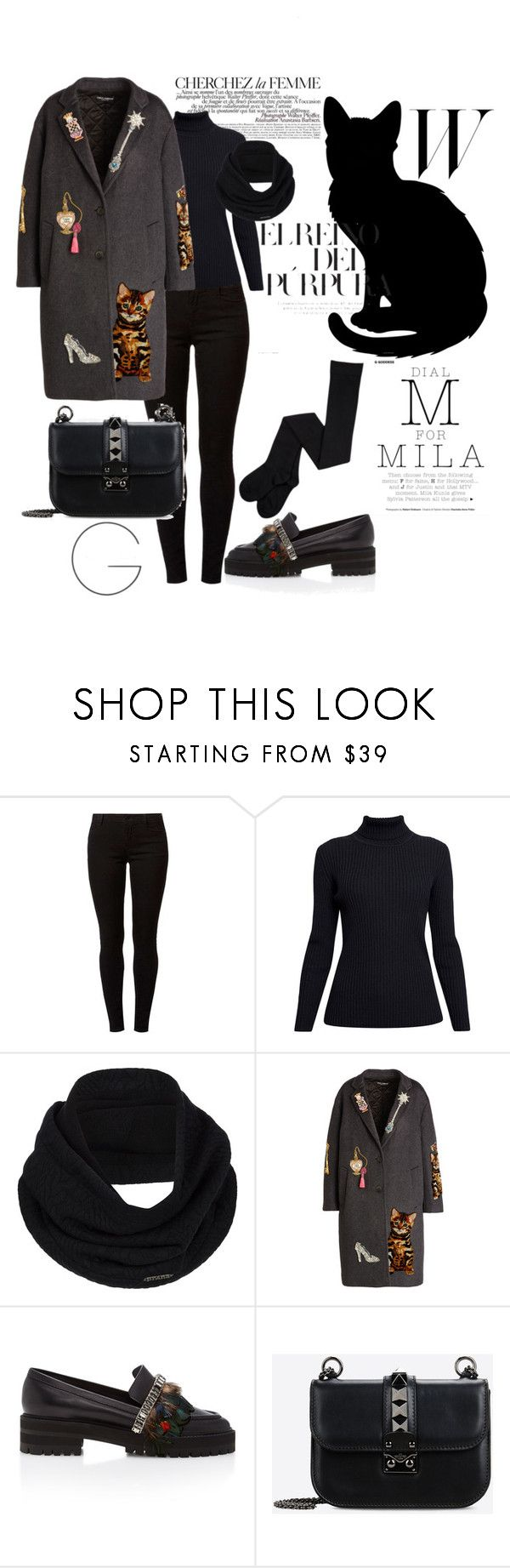 """Başlıksız #40"" by nidaslmn ❤ liked on Polyvore featuring La Femme, Dorothy Perkins, Rumour London, prAna, Dolce&Gabbana, Rochas and Valentino"