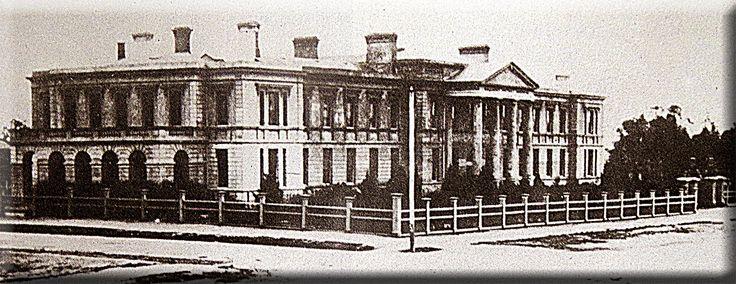 Ballarat Hospital late 1860s - A Hyslop