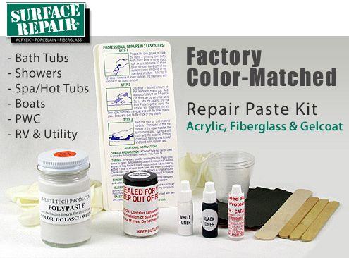 Jacuzzi DIY Bath Tub & Shower Repair Kit