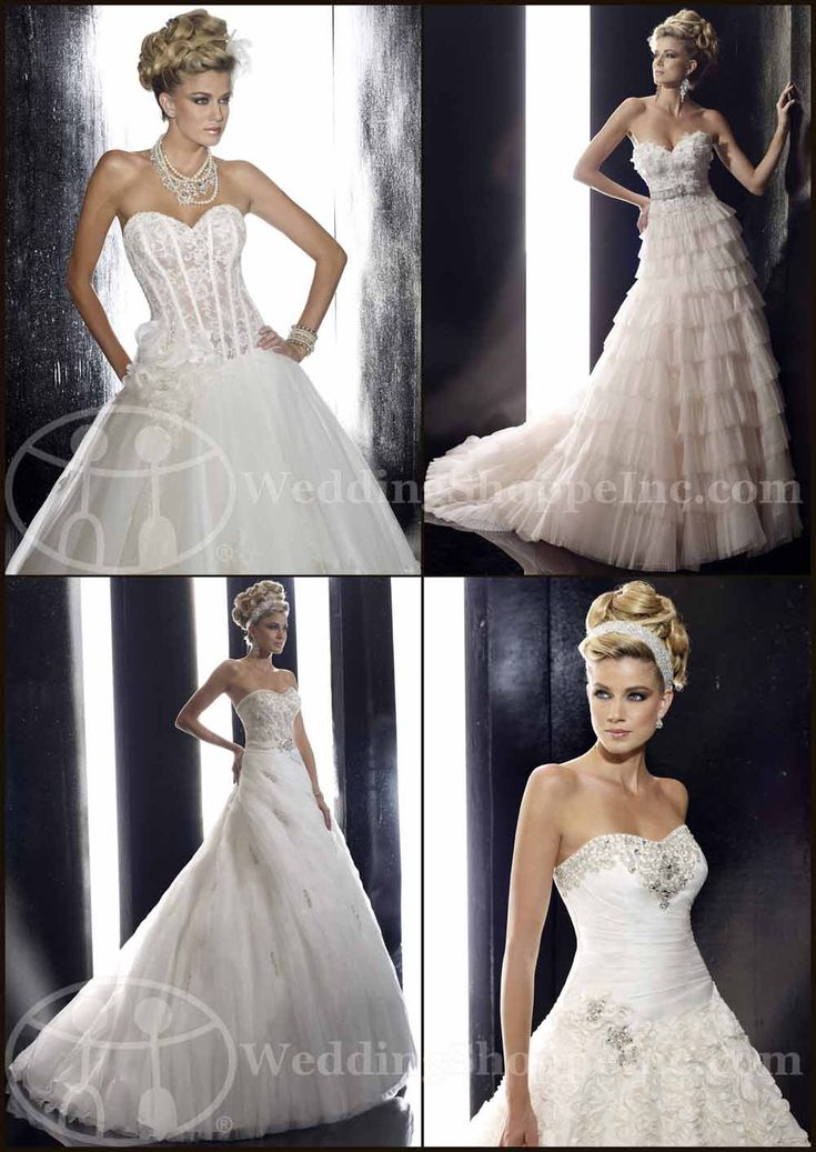 "Dramatic and glamorous Christina Wu bridal gowns from Wedding Shoppe Inc., your ""one stop wedding shoppe"" for all designer wedding dresses, bridesmaid dresses, and much more!"