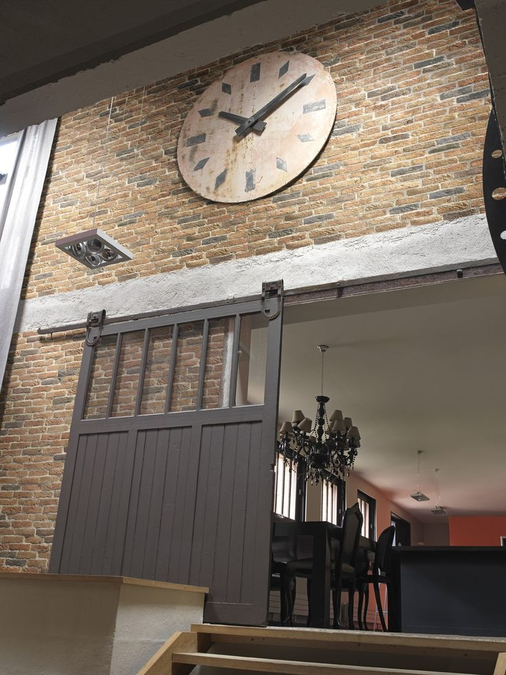 17 meilleures id es propos de briquette de parement sur - Revetement mural pierre interieur ...