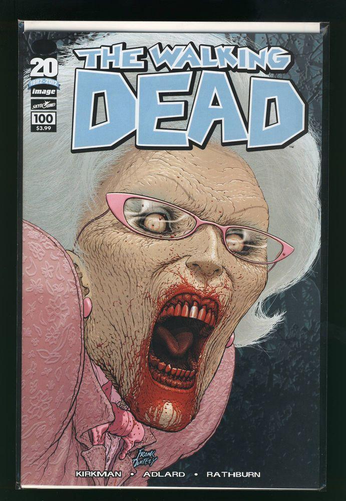 The WALKING DEAD #100 (C) Negan Death of Glenn IMAGE Comics 1st Print VF/NM