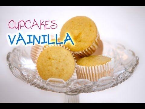 ▶ Receta de Cupcakes de Vainilla - YouTube