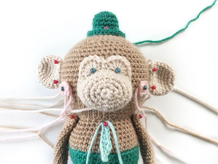BART BLOB - Free Amigurumi crochet pattern - designed by POLARIPOP - Find Bart and his familiy at http://www.polaripop.com