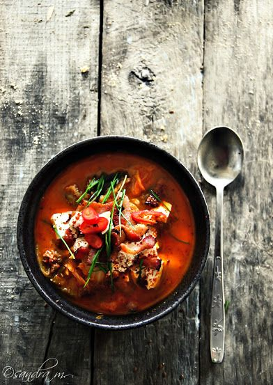 Perfect for this cold wave... Kimchi Jjigae... #Gastronomy #Korea