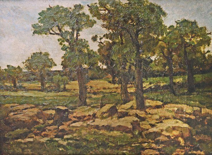 Ion Andreescu (1850-1882) - Margine de pădure