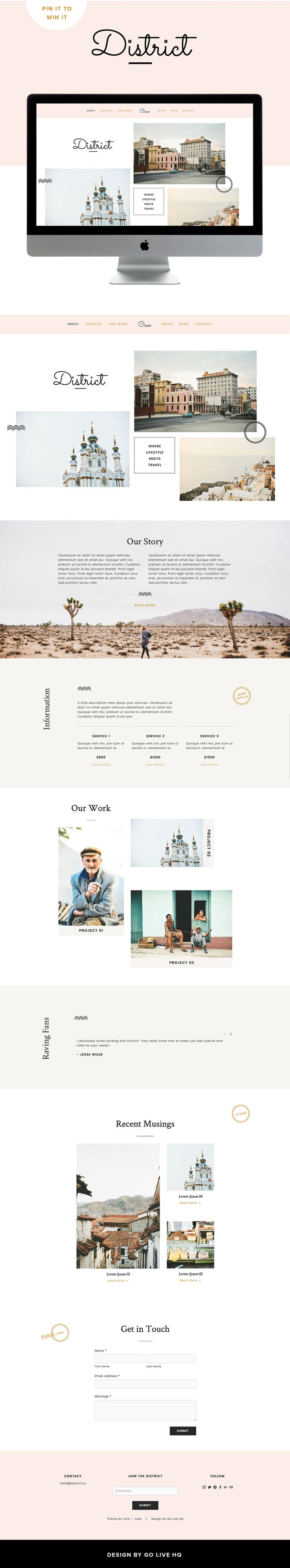 70 best Squarespace & Website Envy images on Pinterest | Design ...