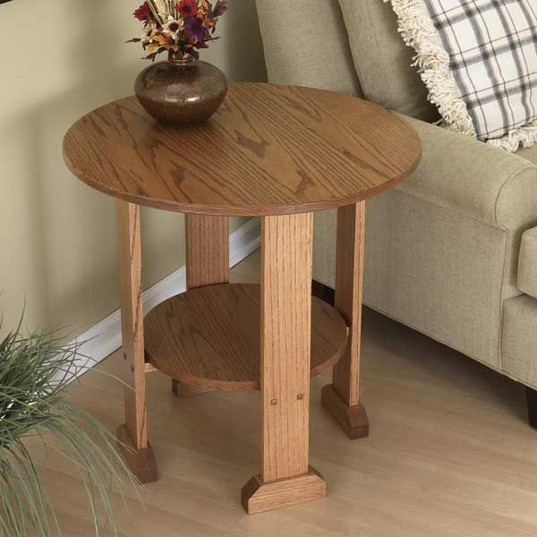 Nice Mission End Table Woodworking Plan From WOOD Magazine