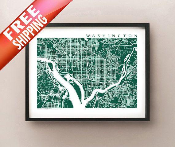 7 best DC Maps images on Pinterest  Map of washington dc