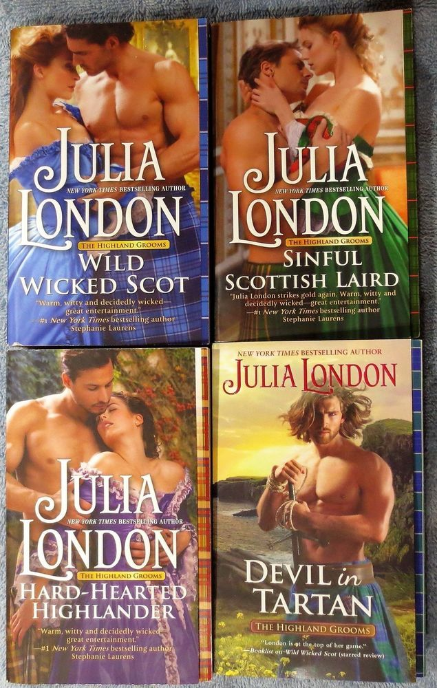 277 best books books books images on pinterest julia london highland grooms quartet wild wicked scot devil in tartan 4 pbs fandeluxe Choice Image