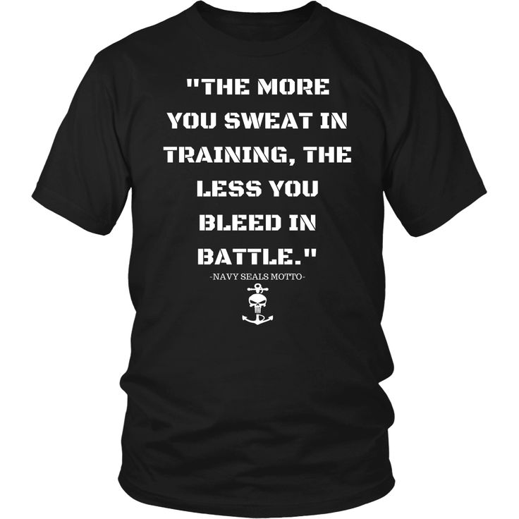 Navy Seal Motto Hoodies