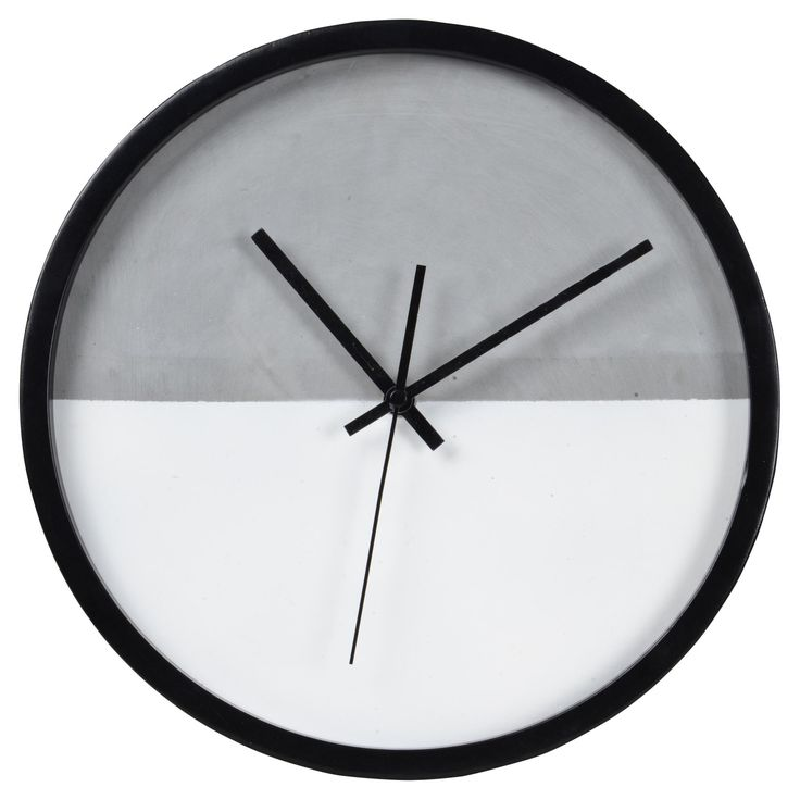Ren-Wil Scandinavian Casual Tenniel 12 in. Wall Clock - CL208