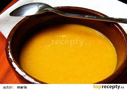 Dýňová polévka recept - TopRecepty.cz