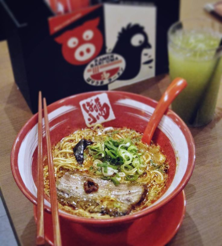#Bali. Good news for all Ramen lovers. @BariumaRamenID from Hiroshima now open at @Beachwalk_Bali. And for you who like spicy let's try their Kara-Uma (69k) pork flavored shoyu spicy soup with grilled thick cut chasu - contain chili paste chili oil and chili powder