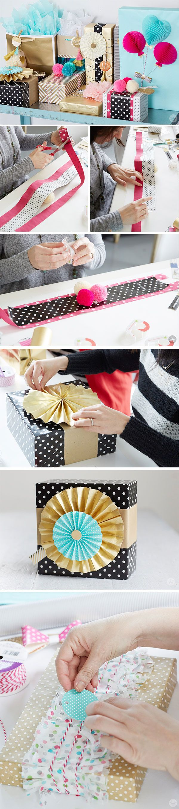 Wrapping tips for gorgeous gifts every time brit co - An Exploration In Creative Gift Wrapping
