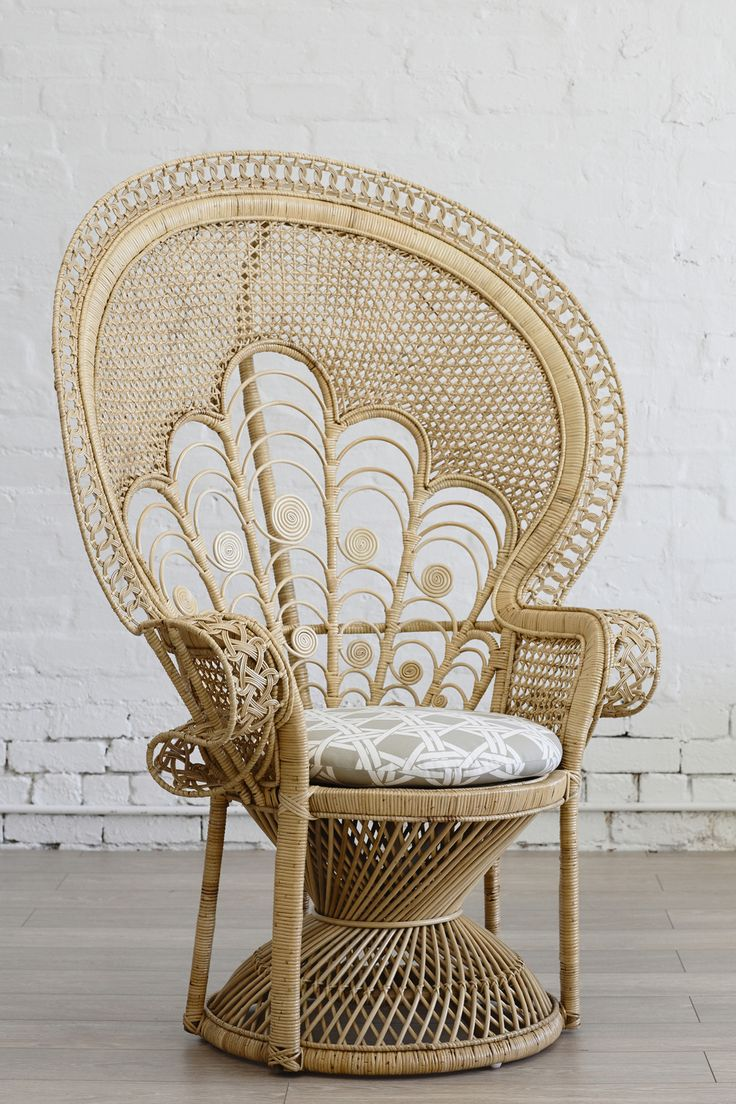 Peacock chair - I had one like this in my room when I was younger. I'd love to find one for my daughter's bedroom.