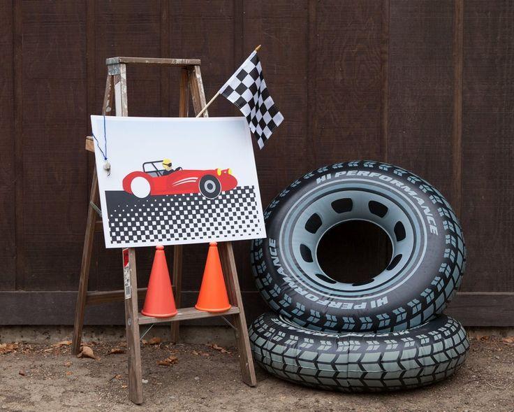 Racecar Birthday Party Games Package