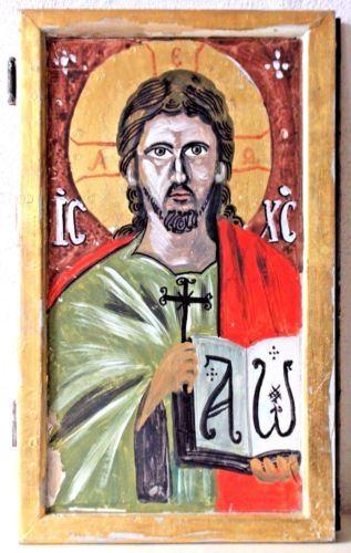 Hagiography-on-Wood-Jesus-Christ