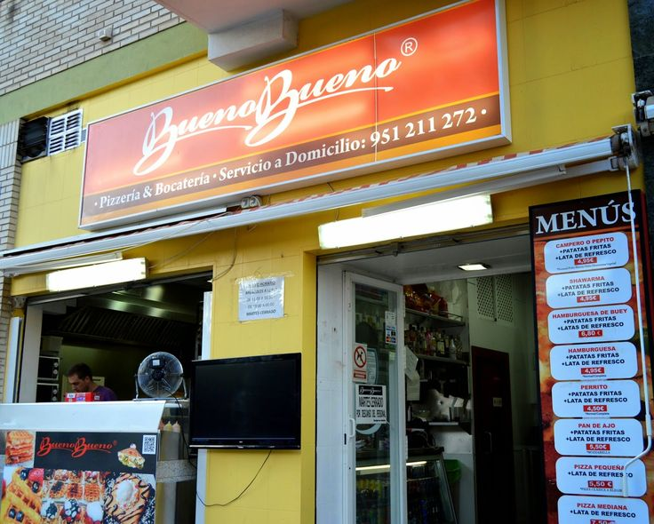 Pizzas a domicilio en Málaga http://www.baresdemalaga.com/2014/08/bueno-bueno-pizzeria.html
