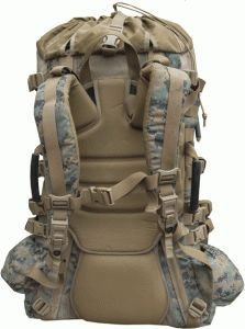 USMC Digital MARPAT ILBE Main Pack, Complete - $79.95 :: Colemans Military Surplus LLC - Your one-stop US and European Army/Navy surplus store with products for hunting, camping, emergency preparedness, and survival gear