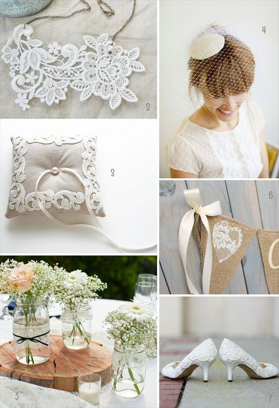 10 Vintage Lace Wedding Ideas ( Win One!)
