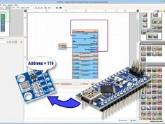Discover the addresses of the I2C devices connected to Arduino with Visuino - Quick and Easy #Arduino #Visuino