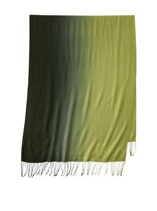 Amicale Women's Dip Dye Scarf, Hunter/Olive