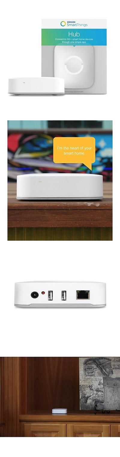 Home Automation Kits: Samsung Smartthings Hub 2Nd Generation Brand New  Sealed Smart Home Automate V2