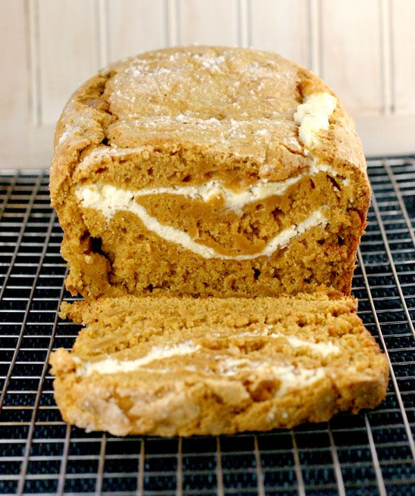 Pumpkin Swirl Bread: Like a Pumpkin Cream Cheese Roll without all the ...