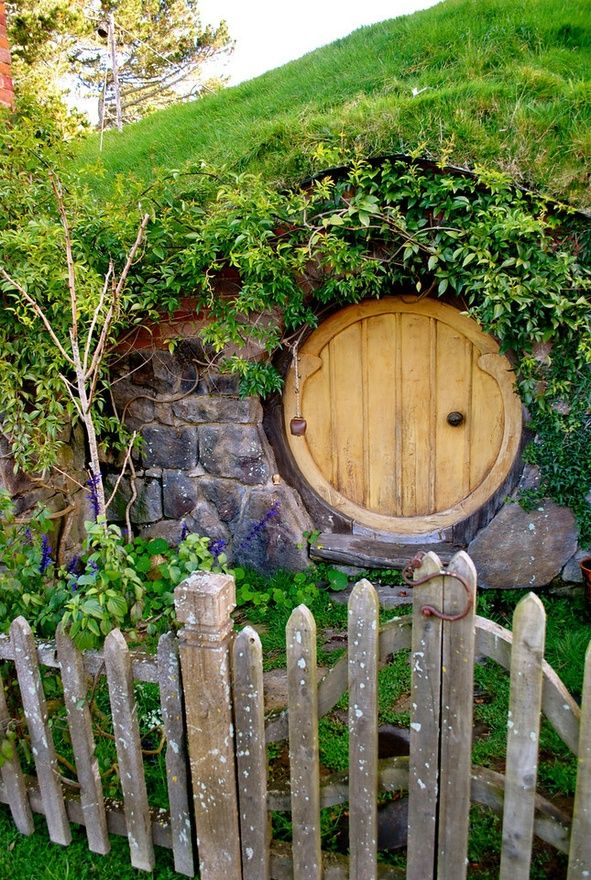 ` porthole entrance--would be a great storm shelter