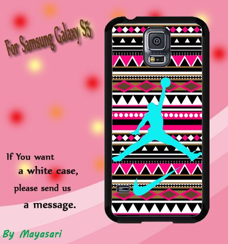 Aztec Nike Jordan Mint Print On Hard Plastic For Samsung Galaxy S5 , Black Case  Description:  Create special case by using your favorite photos or thoughts to inspire and motivate you everyday. Also