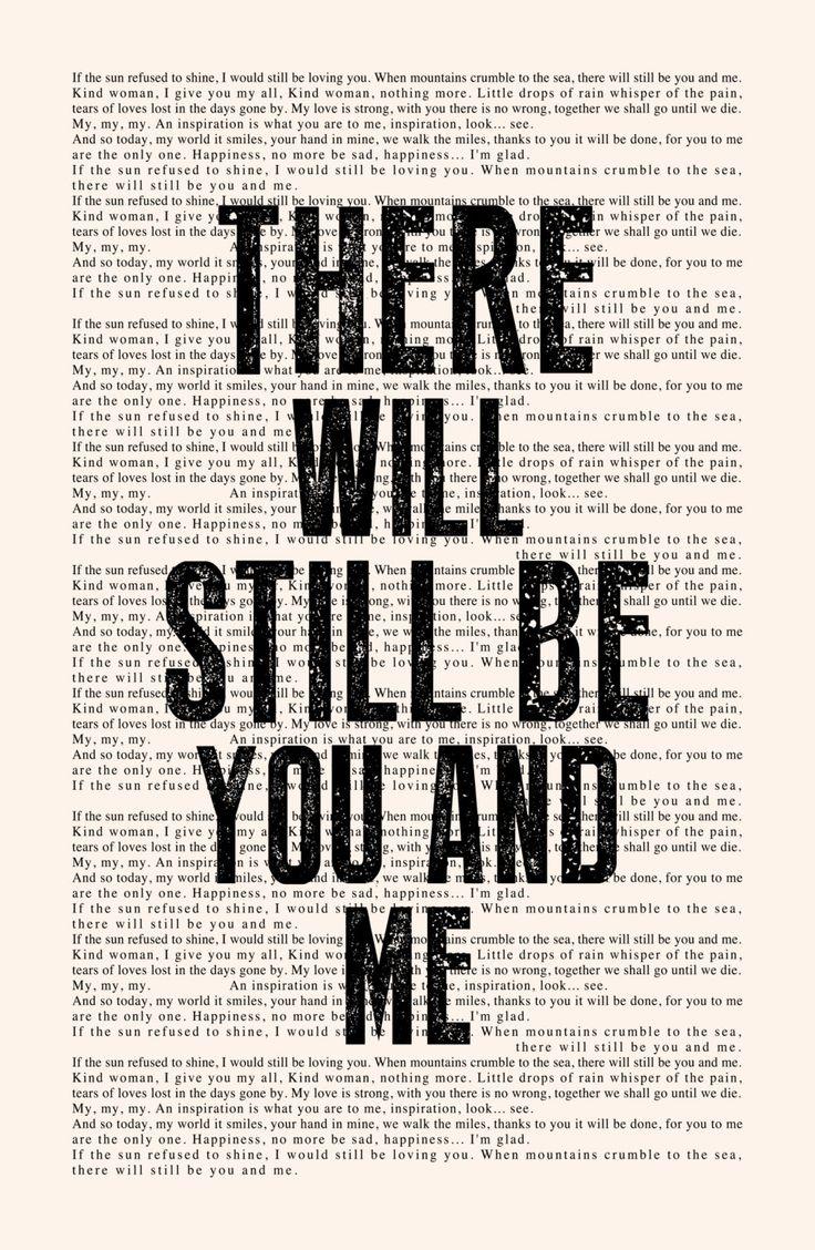 Thank You Lyrics Book Page Led Zeppelin Lyrics by LeMonkeyHouse