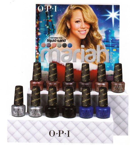 OPI Holiday 2013 Mariah Carey Collection Preview