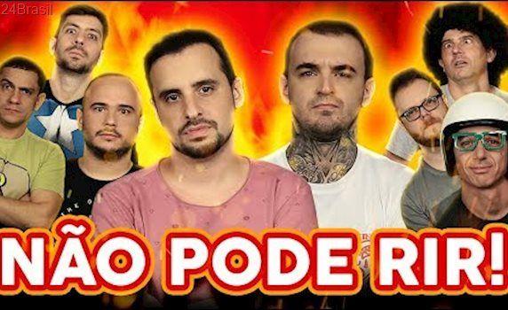 NÃO PODE RIR! - com PC Siqueira, Irmãos Piologo, Rudy Landucci e Vinheteiro