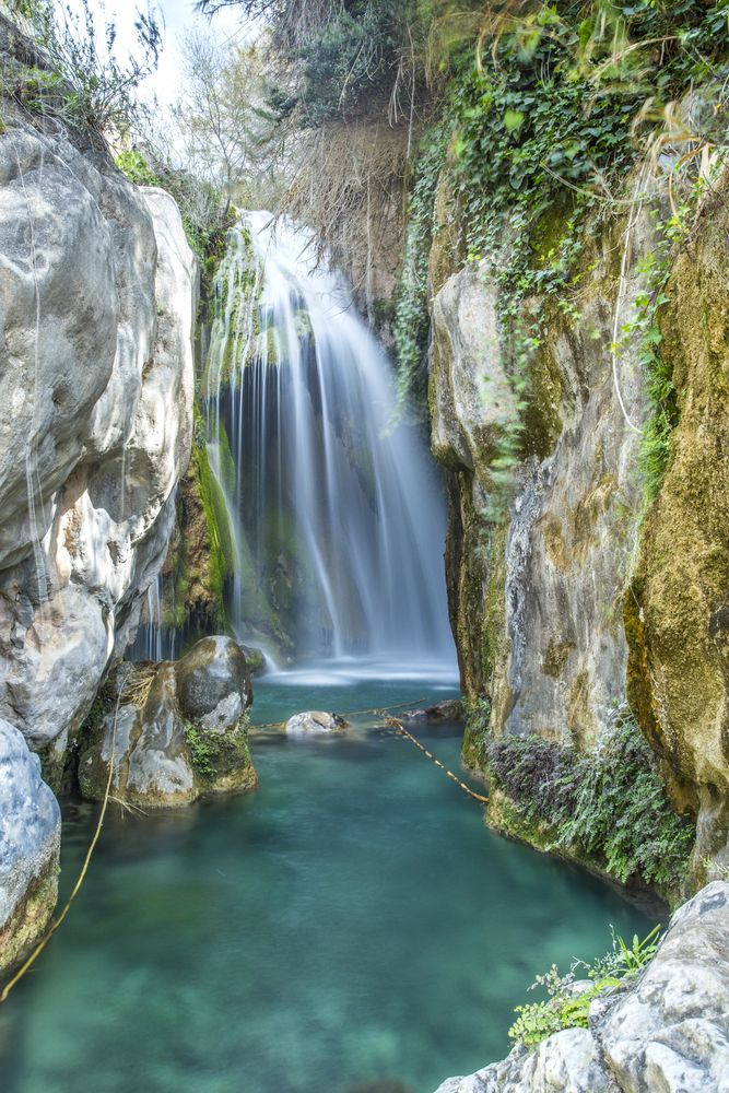 Feels like being in paradise at Les Fonts de l'Algar near Benidorm in Spain....