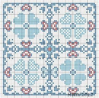 Creative Workshops from Hetti: SAL Delfts Blauwe Tegels,Deel 2 - SAL Delft Blue Tiles, Part 2., Expanded Tile 2 (version 1)