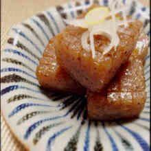 分量簡単!こんにゃくの柚子胡椒ステーキ♡