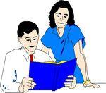 MENTOR EN PUPIL  Versie 1: de leerkracht maakt heterogene groepjes van twee leerlingen. De ene leerling vervult de rol van mentor, de andere van pupil. Ze krijgenbij wiskunde de vraag om een toepassing op te lossen. De leerling die pupil is, lost de toepassing op. De leerling die mentor is, observeert en verbetert waar nodig.   Versie 2: dit kan ook handig zijn bij het ontleden van zinnen bij taal.