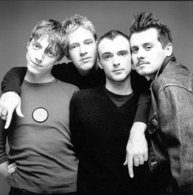 The Scottish band Travis.