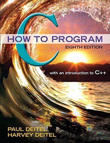 C How to Program Plus MyProgrammingLab with Pearson eText -- Access Card Package (8th Edition)