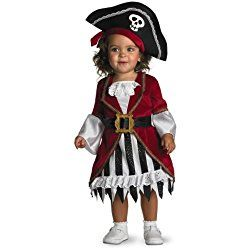 Disguise Infant Girl Costume Pirate Princess, Photo Prop