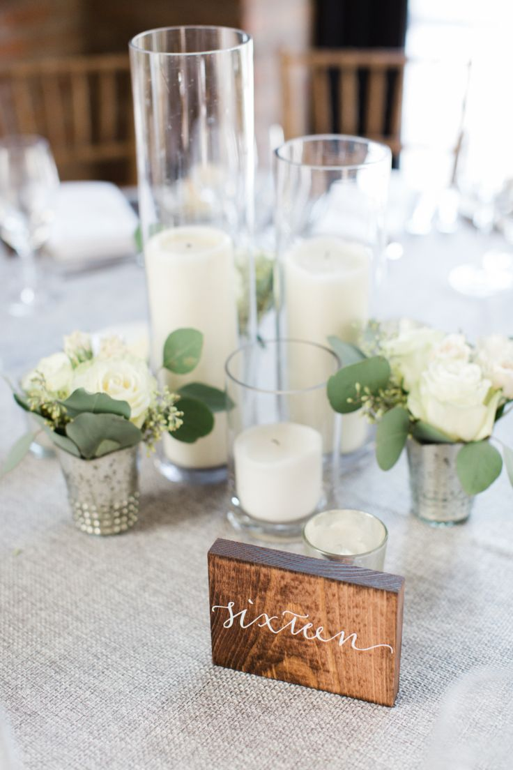 ideas center pieces candles table settings wedding centerpieces table ...