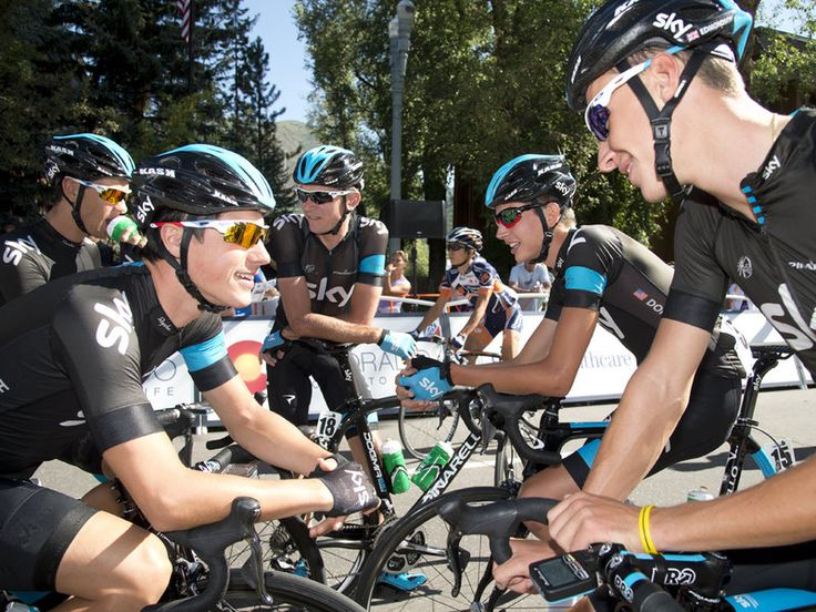 USA PRO CHALLENGE STAGE TWO GALLERY Team Sky were all smiles at the start