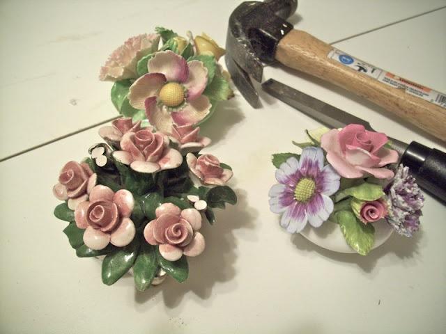 How to break off flowers
