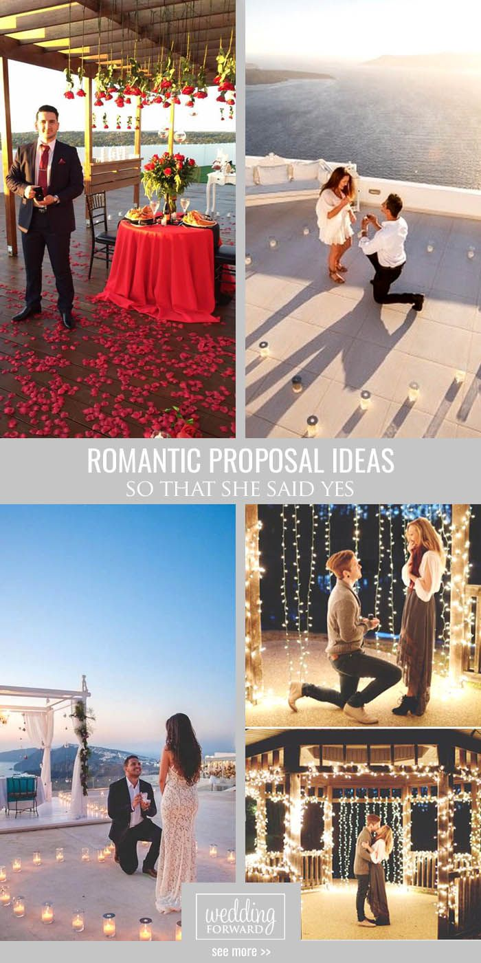 Romantic Proposal Ideas So That She Said Yes ❤ We help you find really amazing romantic proposal ideas. See more: http://www.weddingforward.com/romantic-proposal-ideas/ #wedding #romantic #proposal #ideas