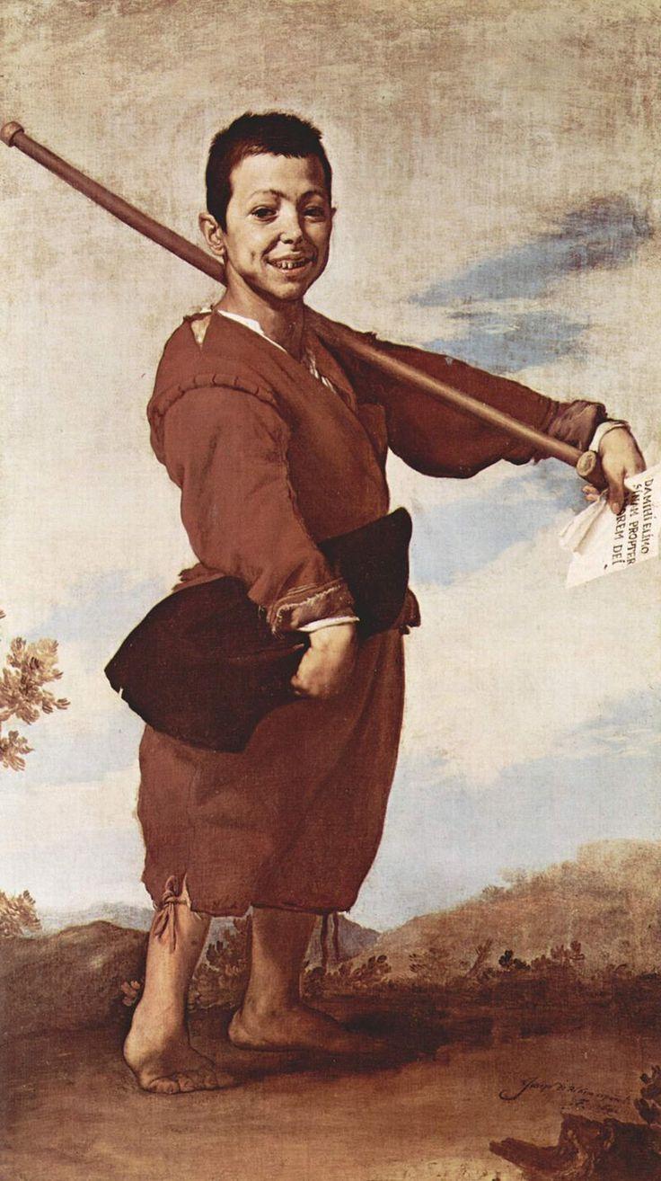 José de Ribera - El pie varo - 1642