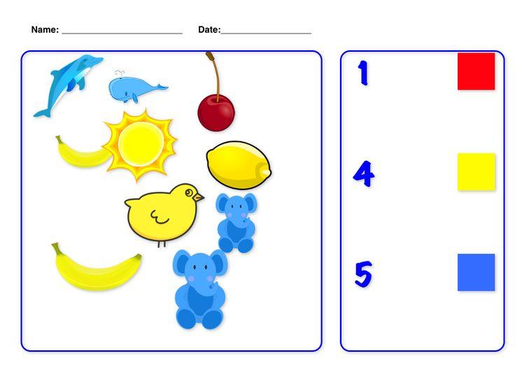 free math worksheets for preschool : baby : Pinterest ...